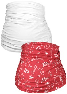 Belly Bands 2pk – red