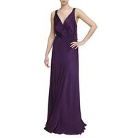 Ghost Gabriella Cross Front Dress, Crown Jewel