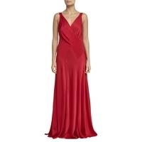 Ghost Gabriella Cross Front Dress, Poinsetta