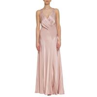 Ghost Gabriella Cross Front Dress, Boudoir Pink