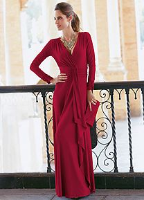 Together Long Sleeved Maxi Dress