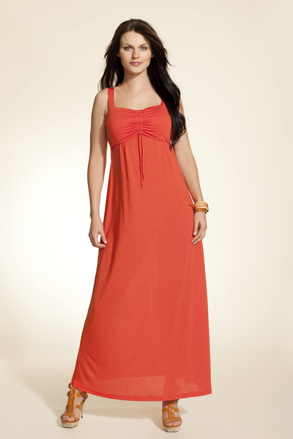 Boob Design Nina Nursing Maxi Dress, Poppy Red