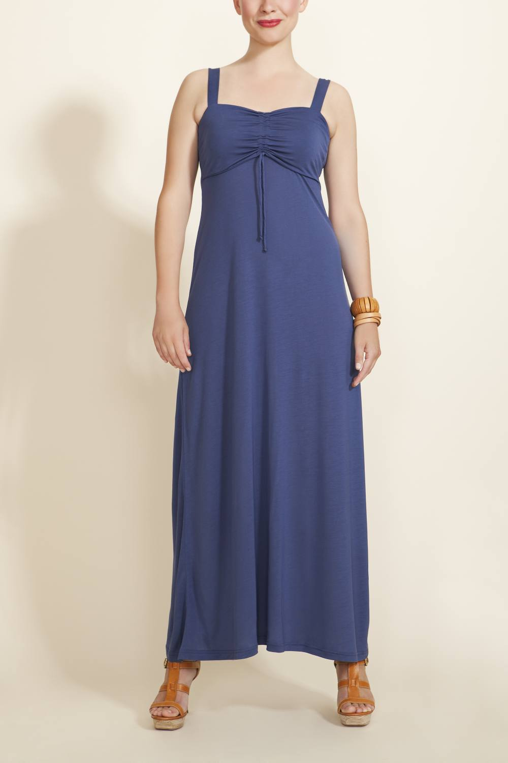 Boob Design Nina Nursing Maxi Dress, Stormy Blue