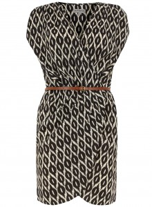 Black diamond crossover dress (Dorothy Perkins)