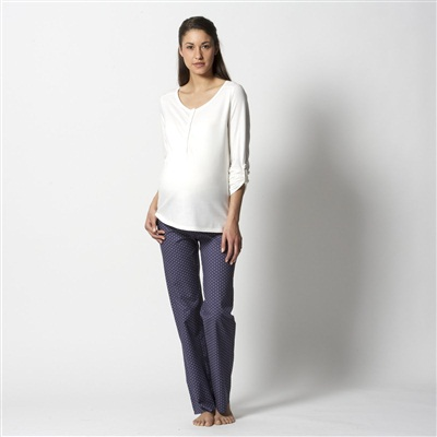 Cotton Maternity and Nursing Pyjamas