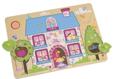 ELC Cottage Lift Out Puzzle