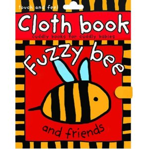 Fuzzy Bee Roger Priddy Cloth Book