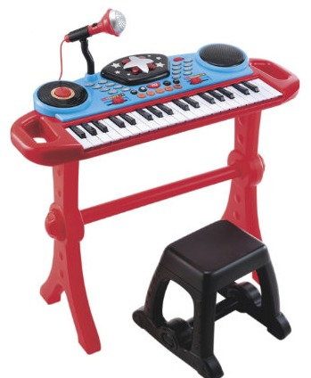 Keyboard & Stool