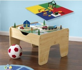 Kidcraft Activity Table with Lego Boards
