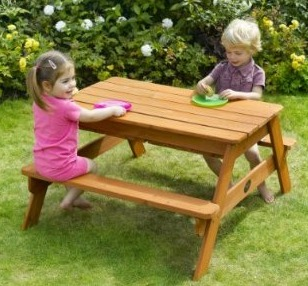 Sand & Water picnic table