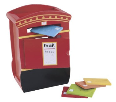 Wooden Post Box Toy