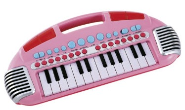 carryalong keyboard pink