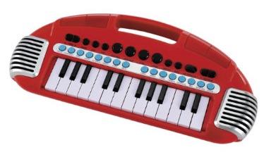 carryalong keyboard red