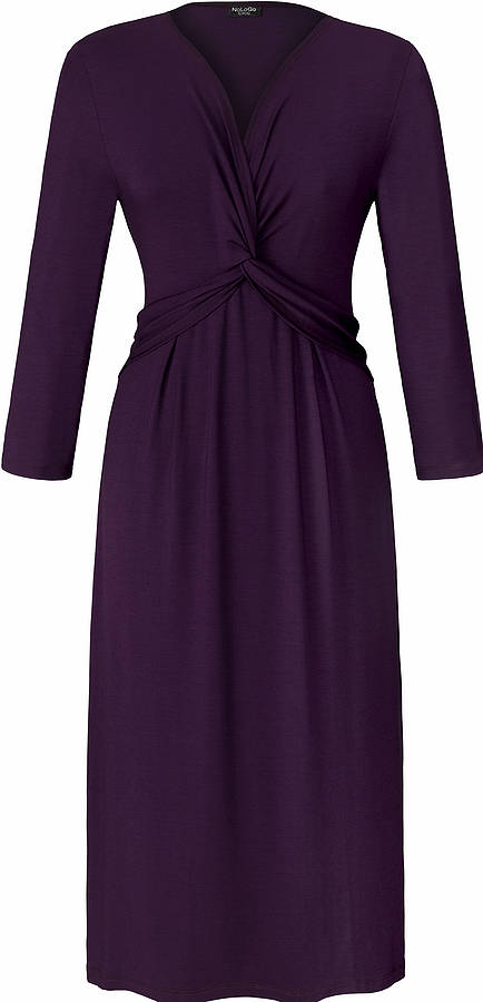 NoLoGo Plum Jersey Dress