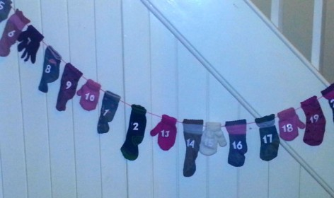 Sock advent calendar