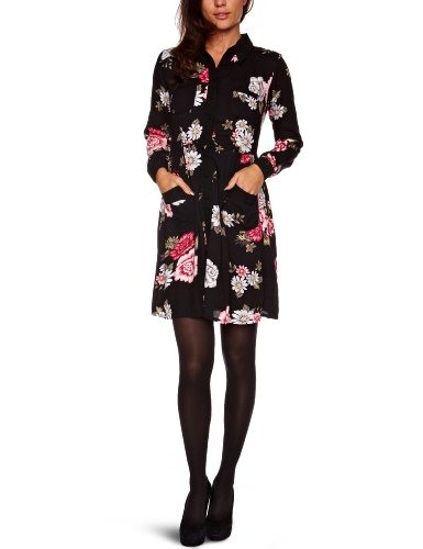 Ruby Rocks RR744 Shirt Dress, Black