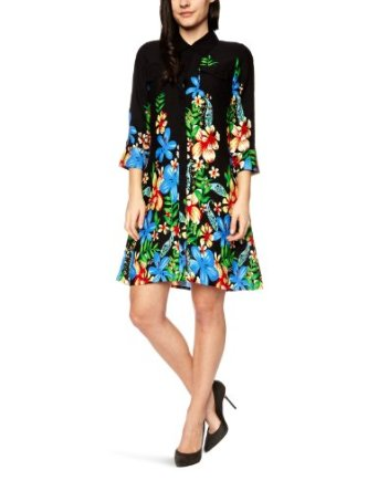 Ruby Rocks Floral Shirt Dress