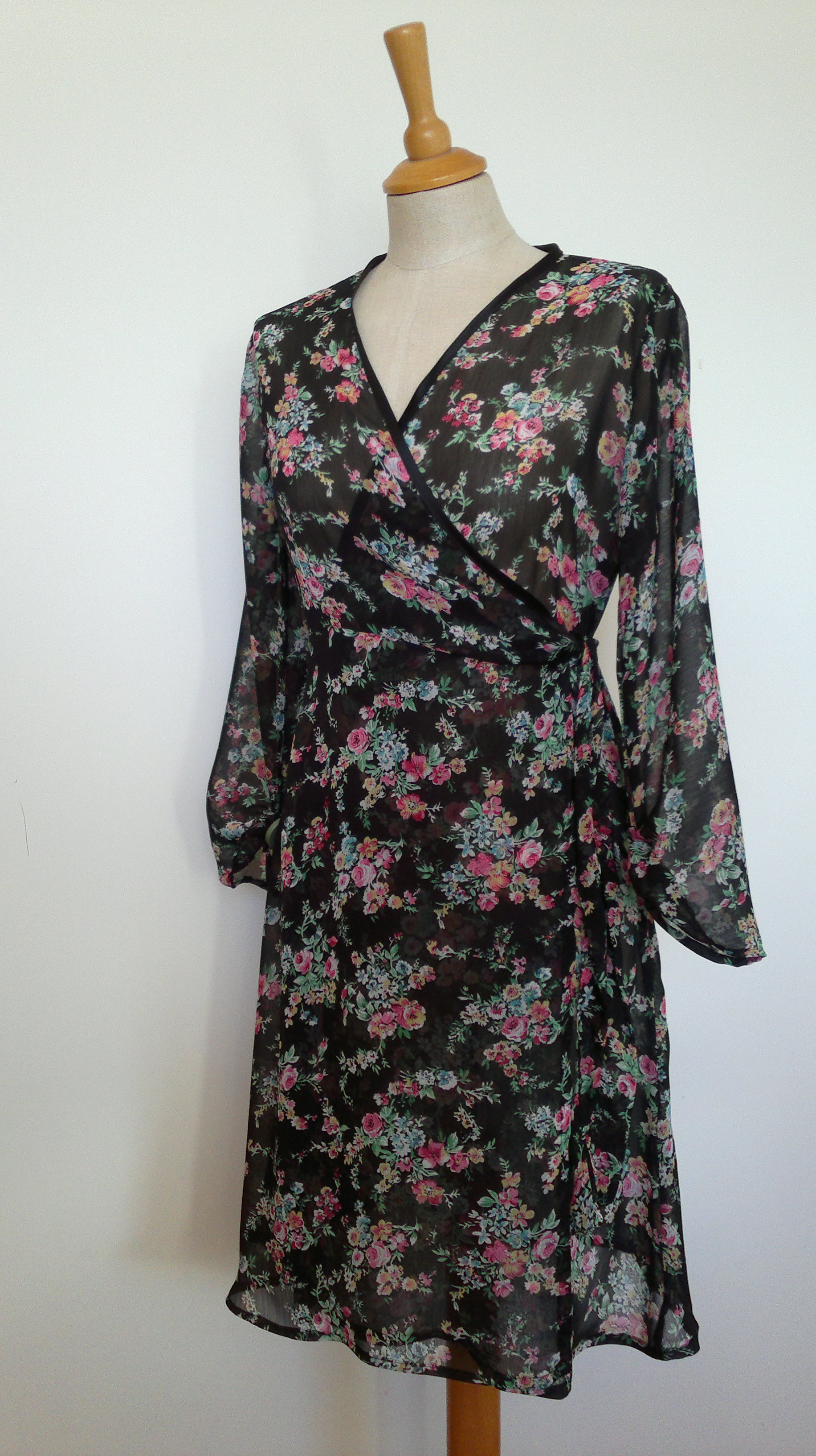 Georgette Wrap Dress