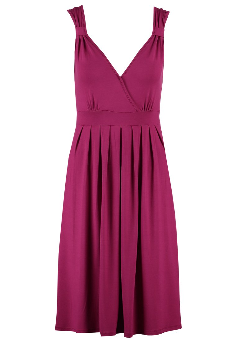 Anna Field Jersey dress berry