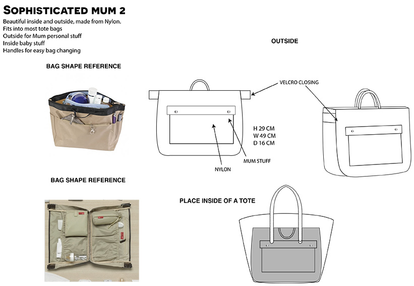 Cooper & Hill Baby Bag 1-4
