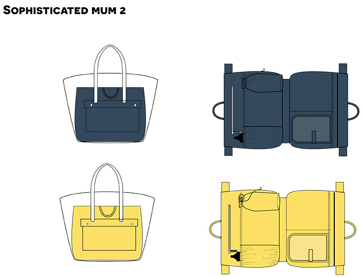 Cooper & Hill Baby Bag 1-6