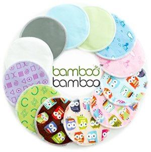 Bamboo Bamboo owl reusable nursing pads