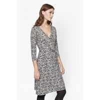 Baroque Rock Wrap Dress - Great Plains Nursing Clothes