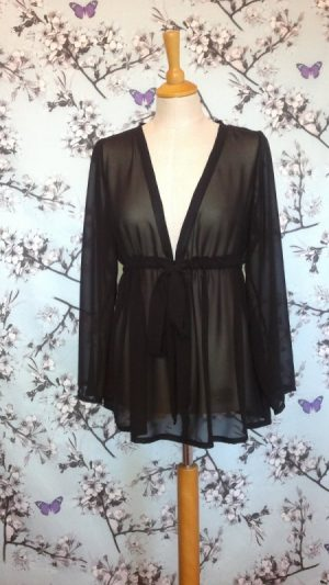 Black-Georgette-Top