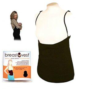 Black BreastVest Nursing Vest