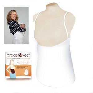 White BreastVest Nursing Vest