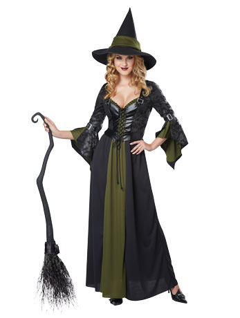 Classic Witch nursing dress costume