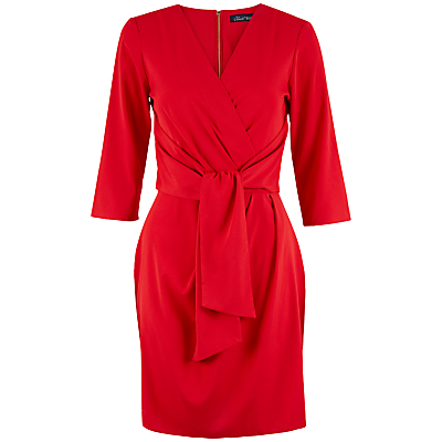 Closet Wrap Dress, Red