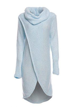 happy-mama-womens-maternity-nursing-wrap-knitted-layered-jumper-pullover-light-blue-melange