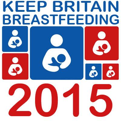 Keep Britain Breastfeeding 2015 - badge