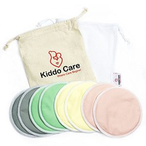 Kiddo Care Reusable Bamboo Nursing Pads