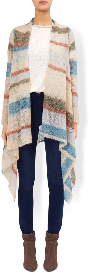 Libby Waterfall Stripe Cardigan