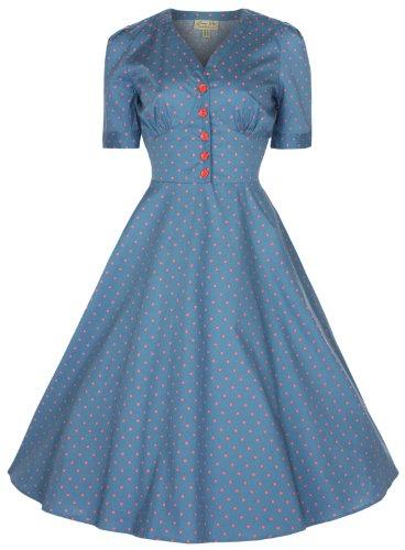 Lindy Bop 'Ionia' Vintage 1950's Style Tea/Shirt Dress