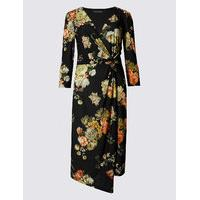 M&S Collection Printed Bodycon Dress - Marks and Spencer Nursing Clothes