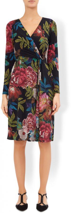 Mabel Print LongSleeve  Dress