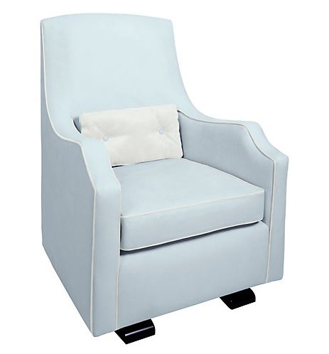 Olli Ella Mo-ma Glider Nursing Chair, Sky Snow