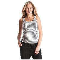 Séraphine Luna Stripe Maternity Top