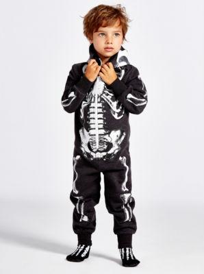 Skeleton hoodie costume