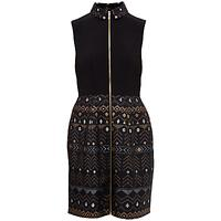 Ted Baker Dasia Sparkle Collar Dress