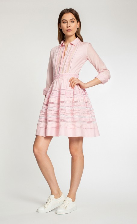 Temperley London Waterfall Shirt Dress