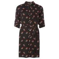Womens Heart print shirt dress- Black - Dorothy Perkins Nursing Clothes