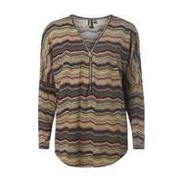 Womens **Izabel London Multi Beige Batwing Top- White - Dorothy Perkins Nursing Clothes