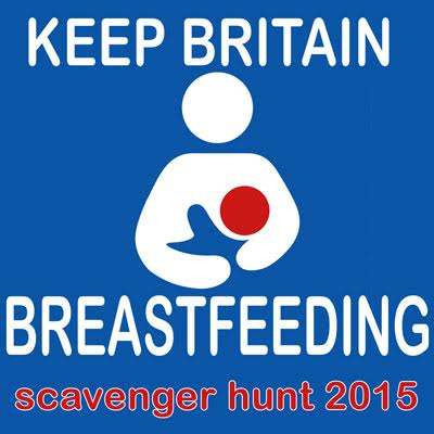 Keep Britain Breastfeeding Scavenger Hunt