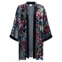 East Nightingale Devore Kimono