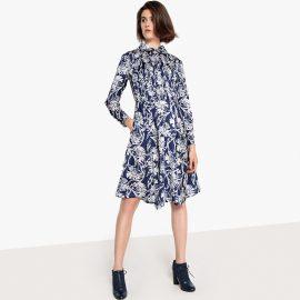 Floral Print Shirt Dress at La Redoute