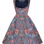 Lindy Bop 'Ophelia' Floral Print 1950's Vintage Inspired Swing Dress, Multi/Print